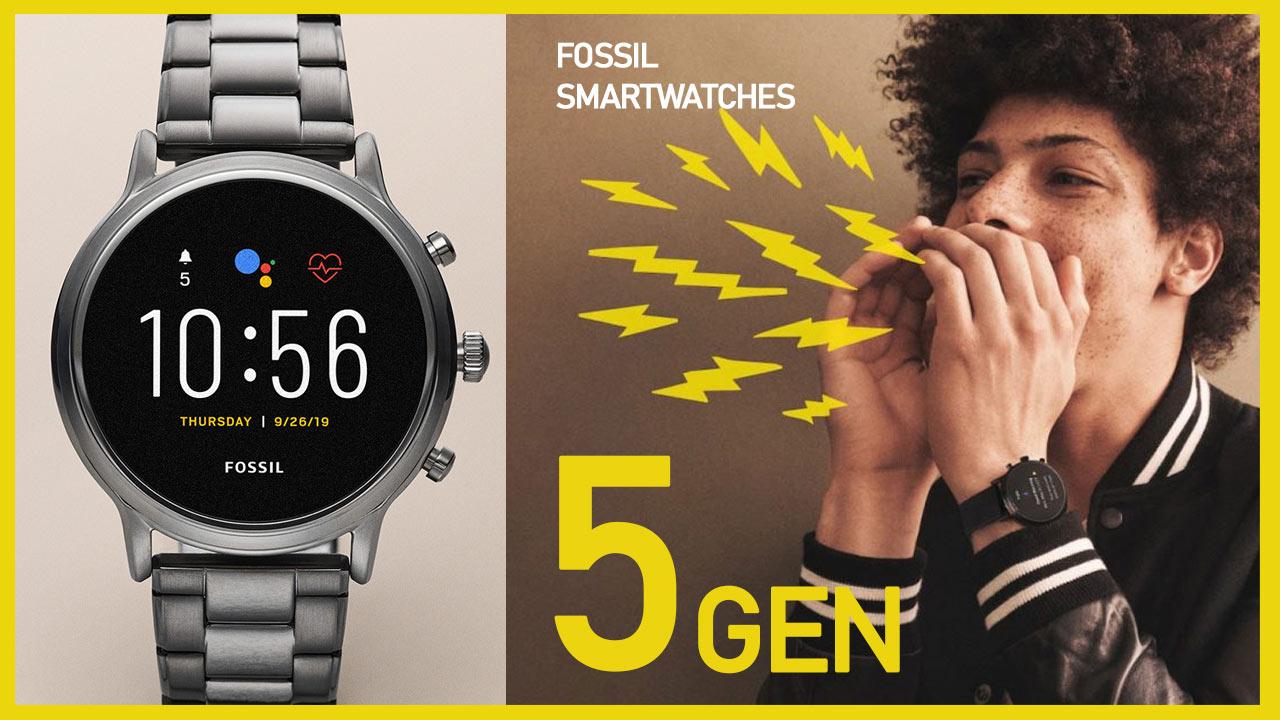 Fossil Smartwatches 5 GENeracja