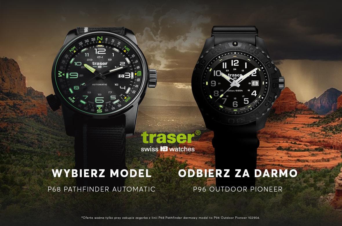 Zegarek Traser gratis