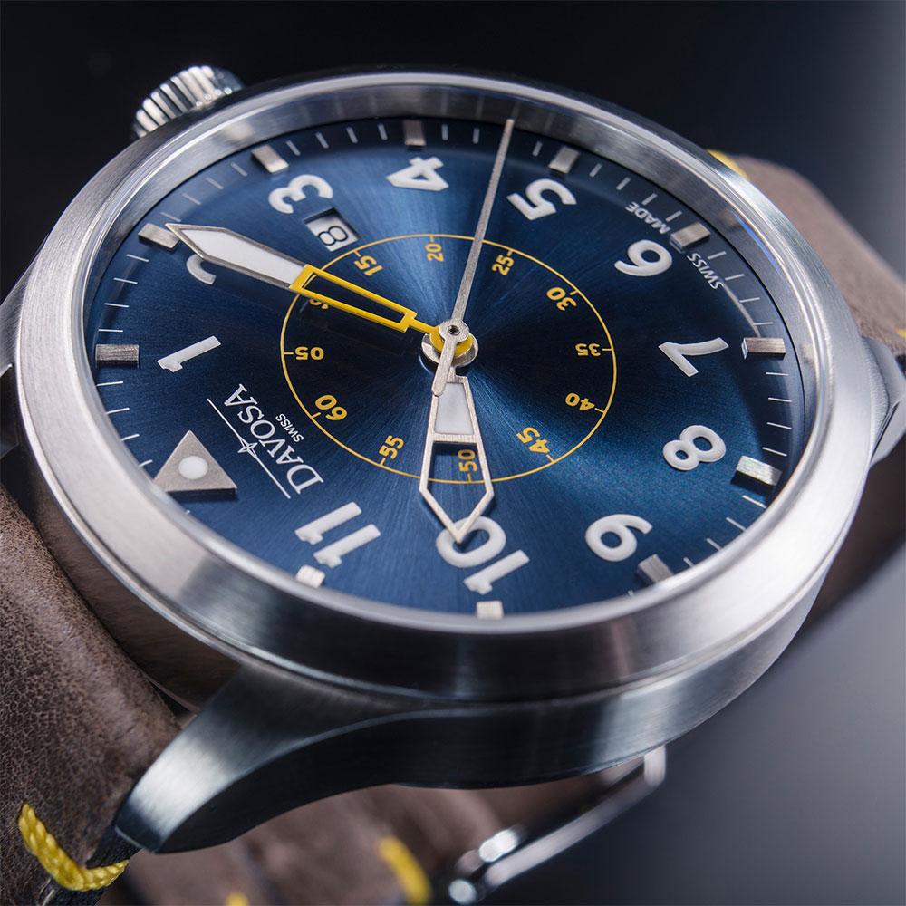 Zegarek męski Davosa Neoteric Pilot 161.565.46