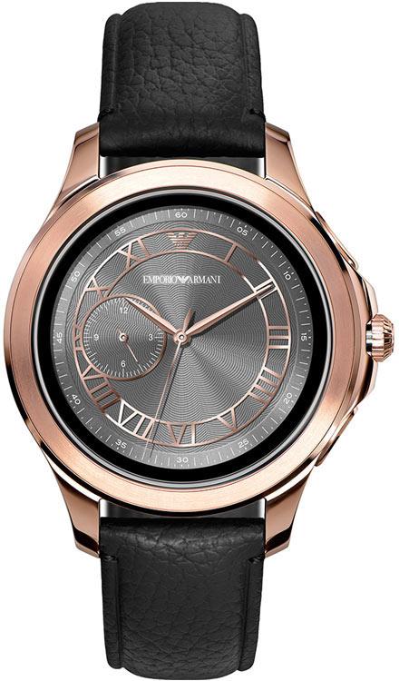 b1f1646a0de Emporio Armani Alberto Connected ART5012 Smartwatch 4 generacji męski  zegarek.