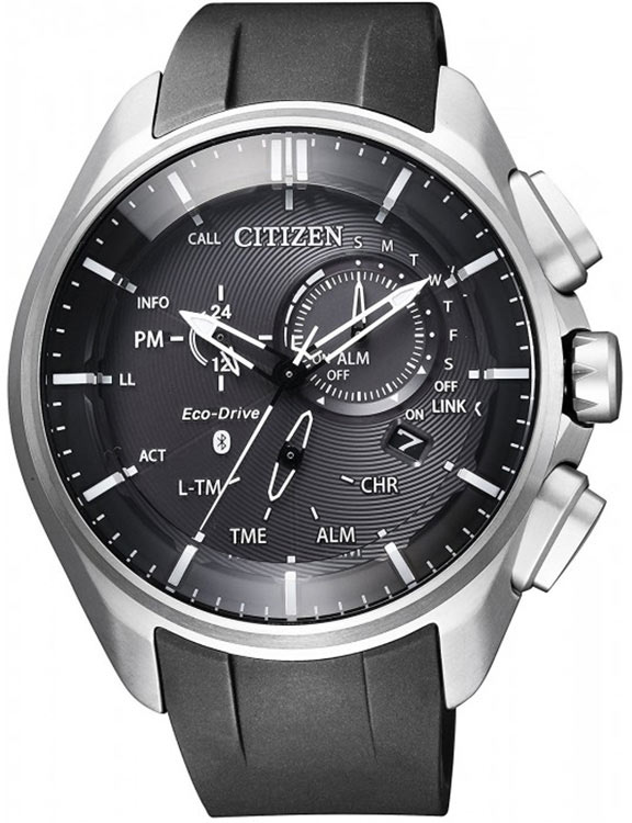 beca0031991312 Zegarek męski Citizen Bluetooth Super Titanium BZ1040-09E