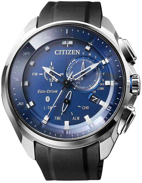 2b835a91f3b6cc Citizen Bluetooth BZ1020-14L męski zegarek hybrydowy ...