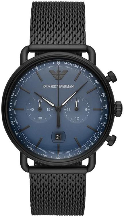 9a8e518a0f2e Zegarek Emporio Armani Aviator AR11201 Koperta zegarka ...
