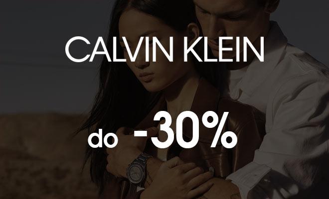 Zegarki Calvin Klein rabat 30%
