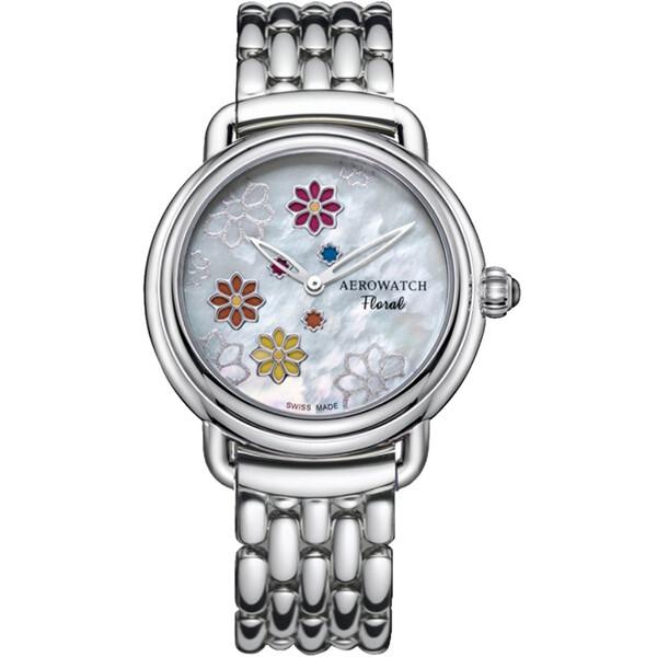 Aerowatch 1942 Floral 44960 AA15 M zegarek damski