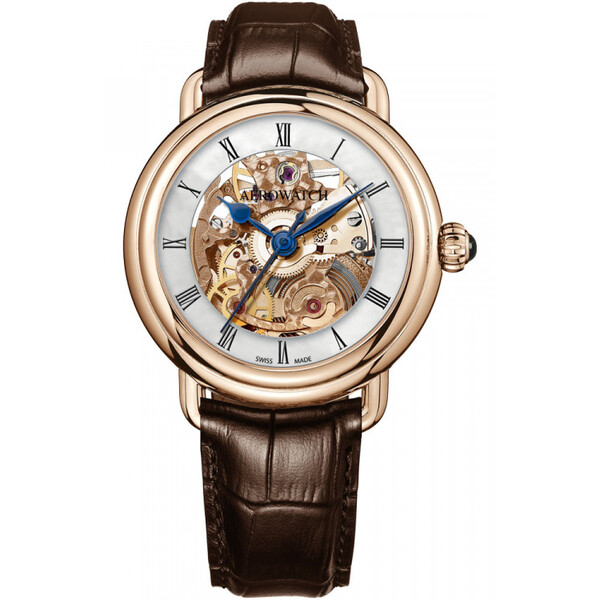 Aerowatch 1942 Skeleton Lady Automatic 60922 RO17 damski zegarek automatyczny.