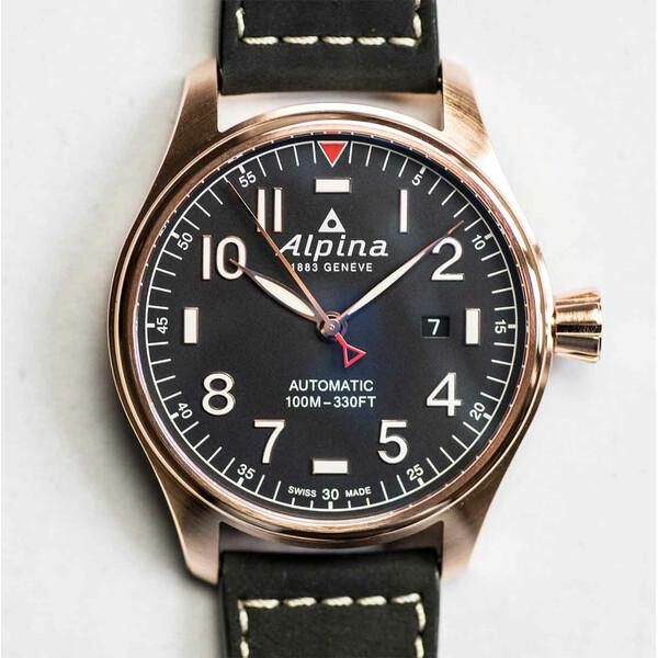 Alpina Startimer Pilot Automatic AL-525NN4S4 zegarek