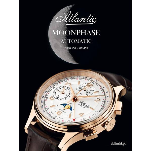 Atlantic Worldmaster Moonphase edycja limitowana 188 sztuk