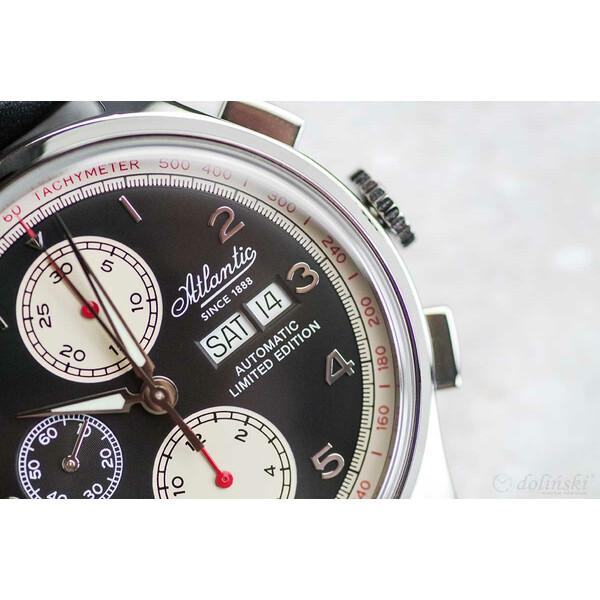 Atlantic Worldmaster Valjoux Limited Edition 55852.41.63