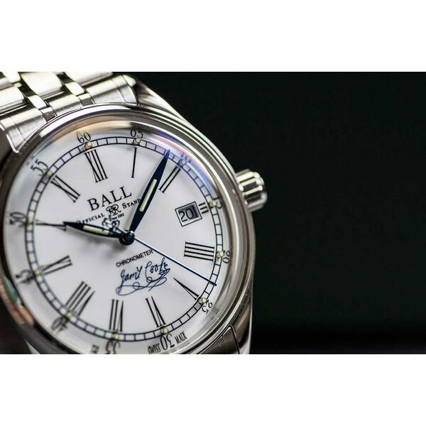 Ball Trainmaster Endeavour Chronometer NM3288D-S2CJ-WH zegarek