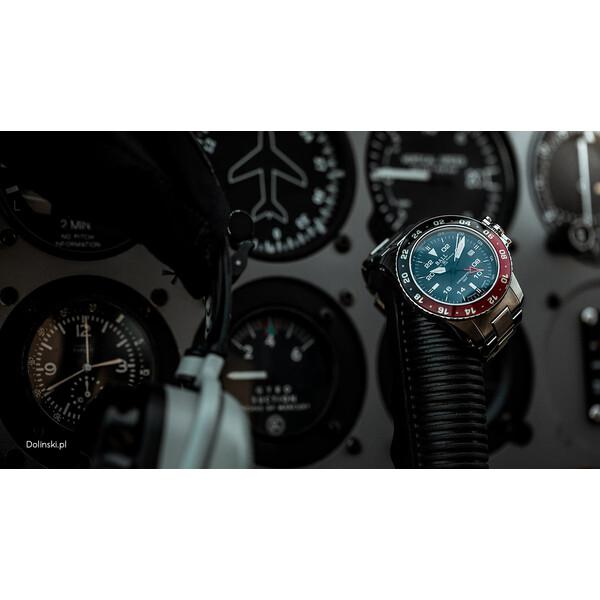 Ball Engineer Hydrocarbon Aero GMT II męski zegarek.