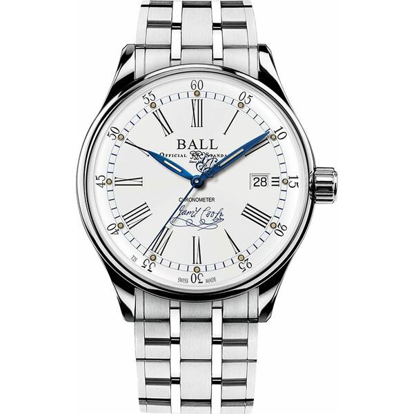 Ball Trainmaster Endeavour Chronometer NM3288D-S2CJ-WH zegarek limitowany