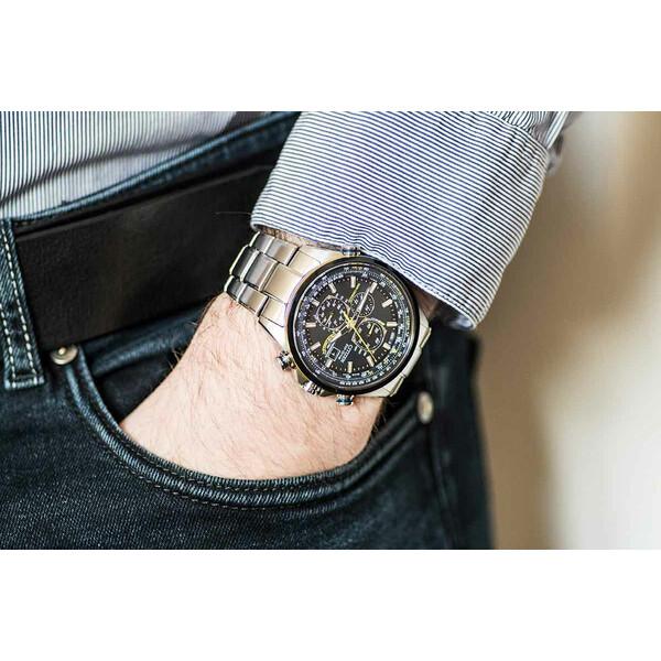 Citizen Radio Controlled Blue Angels AT8020-54L zegarek na ręce