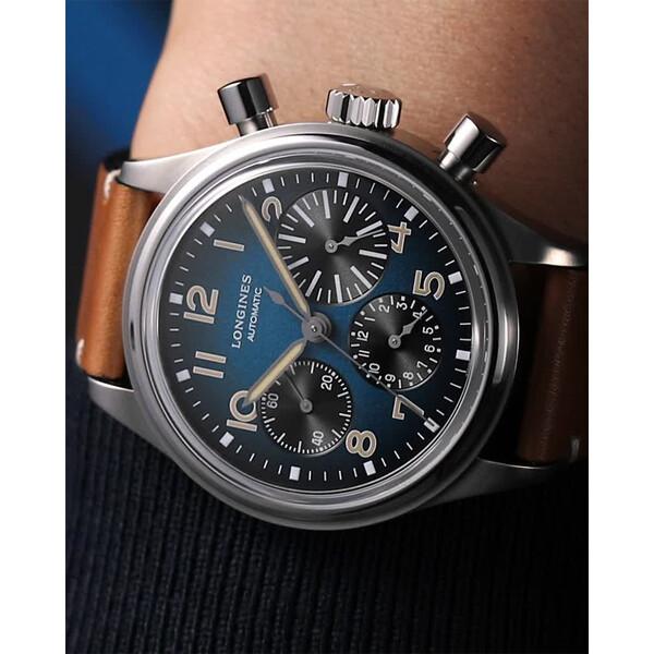 Longines Avigation BigEye L2.816.1.93.2 zegarek pilotażowy.