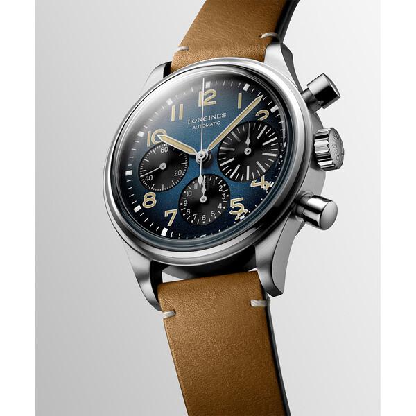 Longines Avigation BigEye L2.816.1.93.2 zegarek retro.