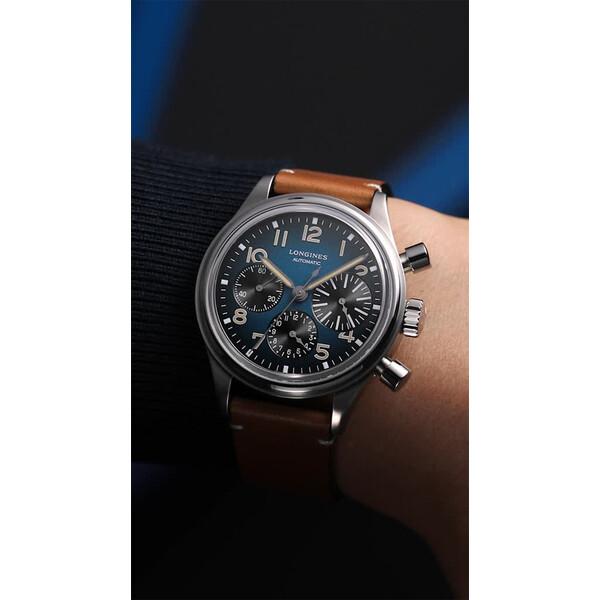 Longines Avigation BigEye L2.816.1.93.2 zegarek tytanowy.