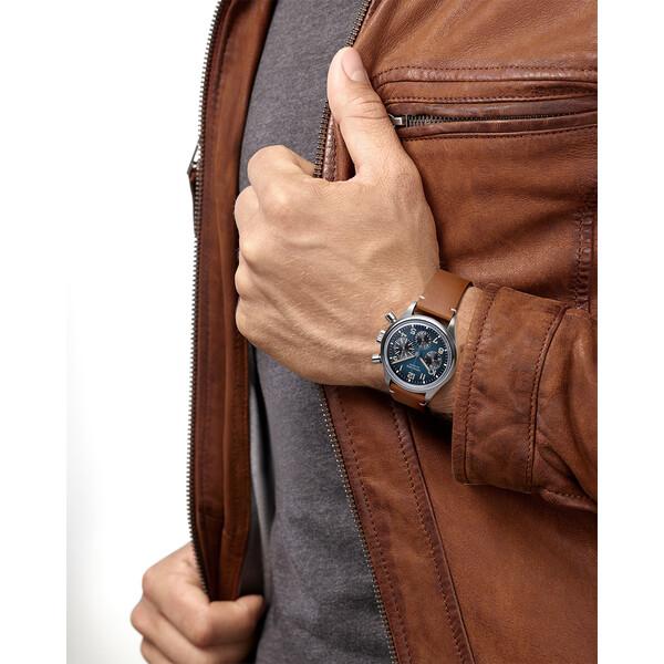 Zegarek z tytanu Longines.