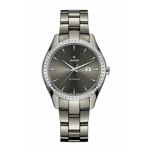 Rado HyperChrome Automatic Lady R32051102 zegarek damski z diamentami