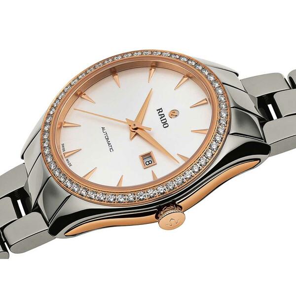 Rado HyperChrome Automatic Lady R32052012 zegarek z diamentami