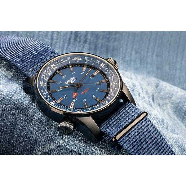 Traser P68 Pathfinder GMT Blue 109034