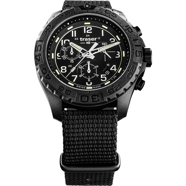 Zegarek męski Traser P96 Evolution Chrono Black 108680