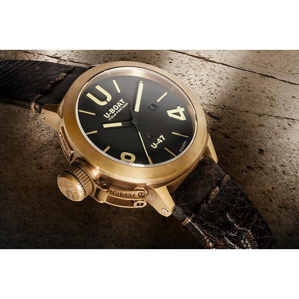 U-BOAT Classico U-47 Bronze 7797 zegarek z brązu.