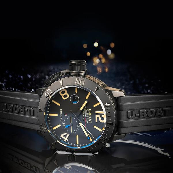 U-BOAT Sommerso DLC 9015 zegarek nurkowy.