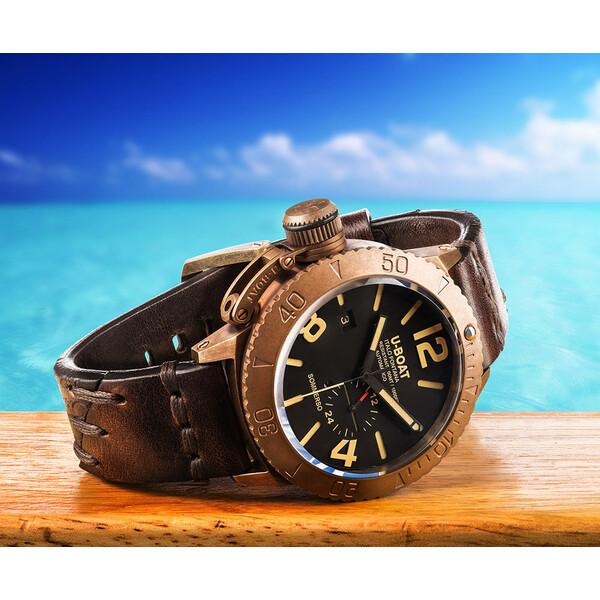U-BOAT Sommerso Bronze 8486 zegarek z brązu.