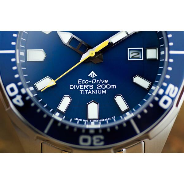 Klasa Szczelności Citizen Promaster Professional Diver BN0201-88L